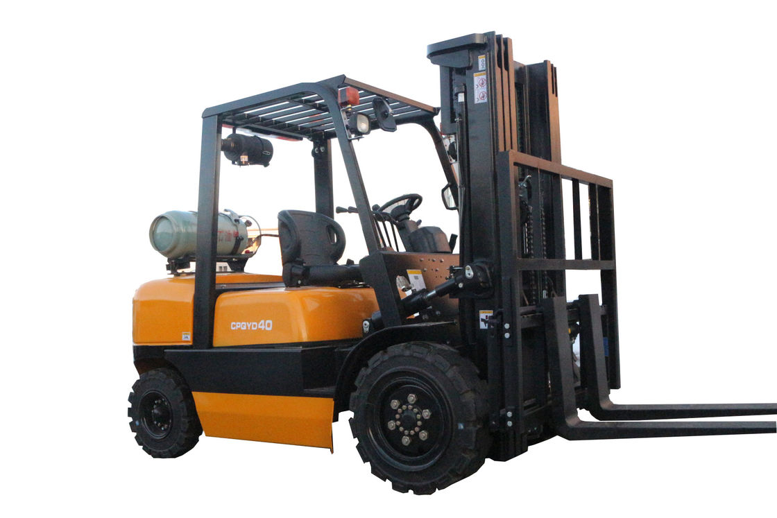 4 TON Gasoline And LPG Forklift Powered Pallet Truck With Chinese Engine