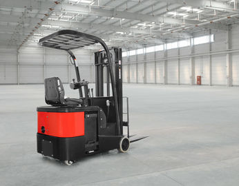 AC البطارية Reach Truck Electric Lift Truck 24V Stand On 1 Ton - 2 Ton